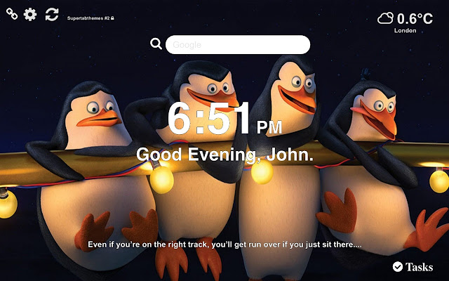Penguins of Madagascar Wallpapers New Tab