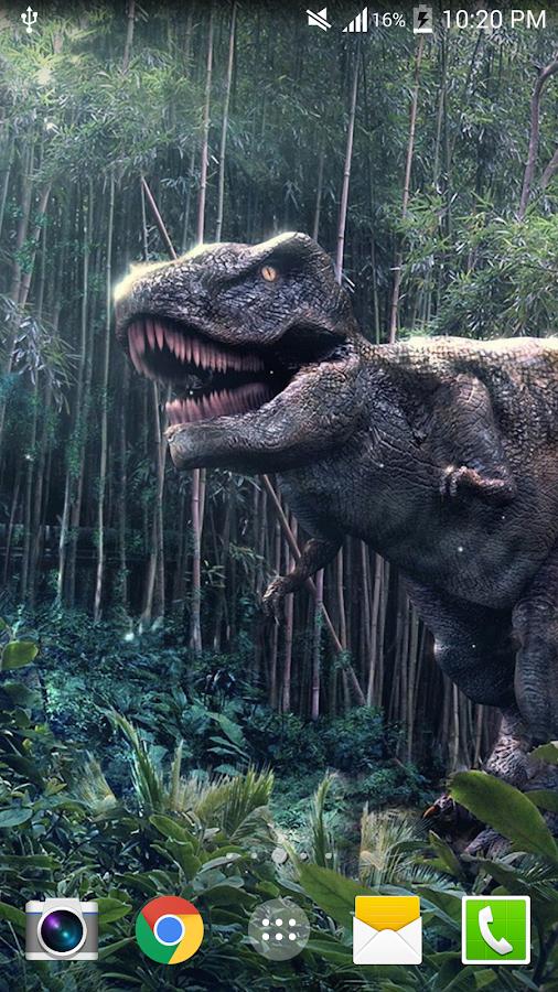Dinosaur Live Wallpaper PRO HD