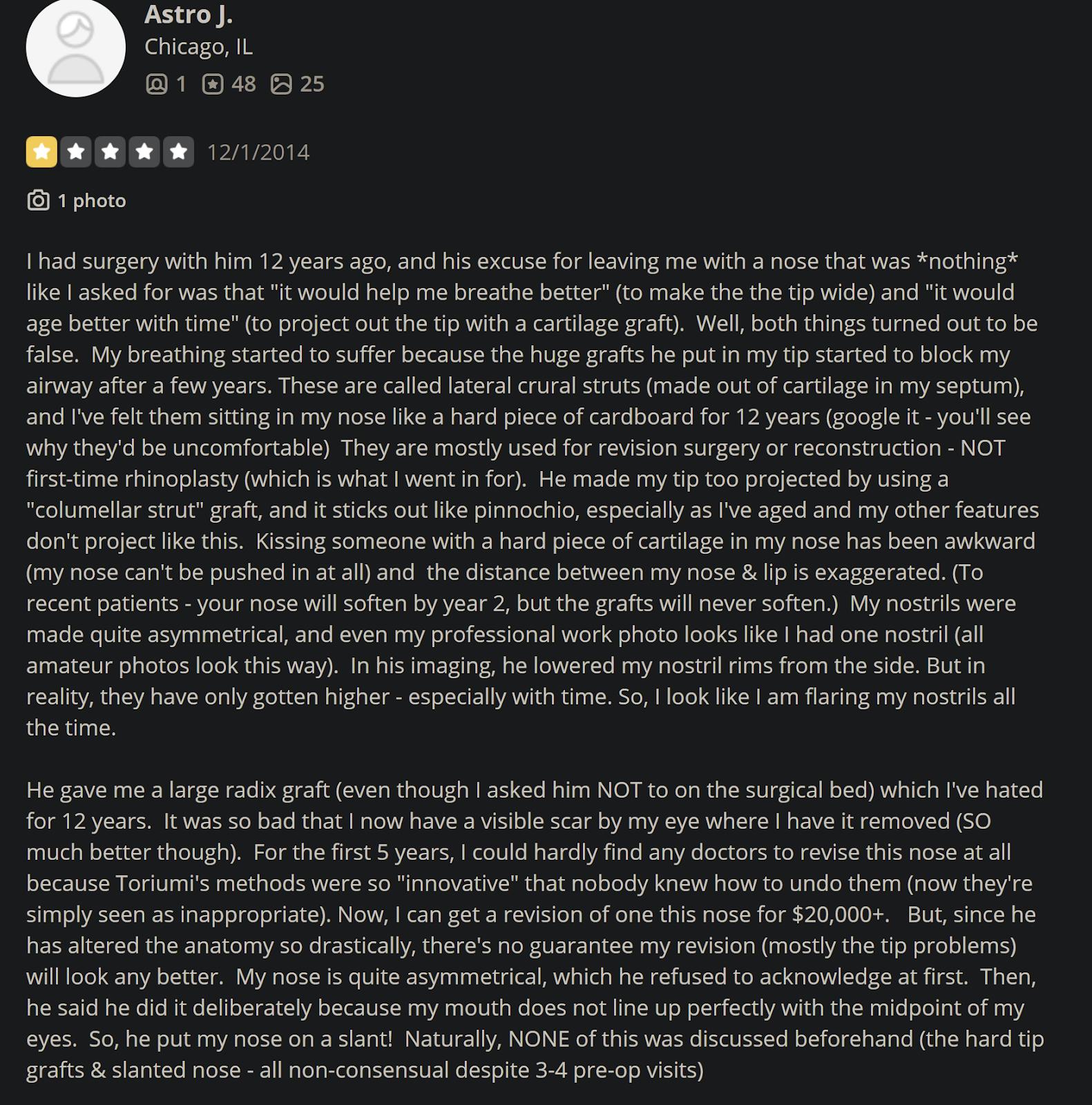 Dr. Dean Toriumi review 6