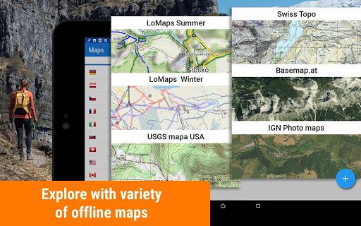 Locus Map Free - Hiking GPS navigation and maps 3.48.2 Screenshots 9