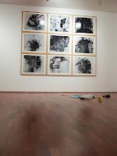 "Photo: © Olivier Perrot  The Museum of Photography, Seoul Accrochage de 9 ""photogramme de neige"""