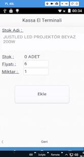 Kassa Satış Otomasyonu - náhled