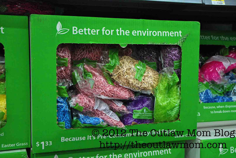Photo: Didn't know they had environmentally safer Easter grass.