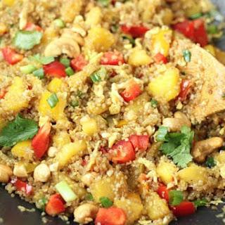 Pineapple Cashew Quinoa 'Fried Rice' Recipe