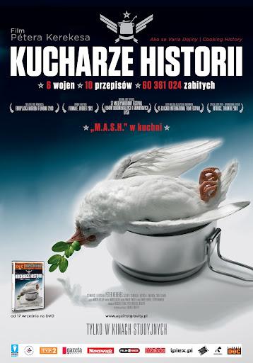 Polski plakat filmu 'Kucharze Historii'