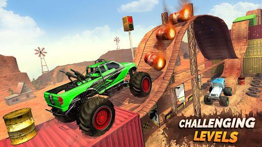 Monster Truck OffRoad Racing Stunts Game 1.7 screenshots 3