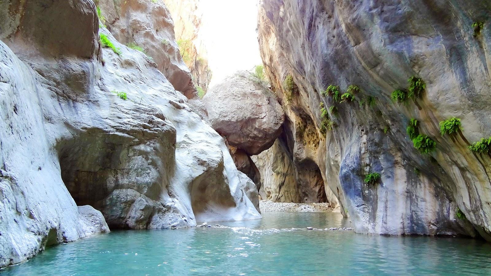goynuk canyon turkey whitewashed stone turkish riviera
