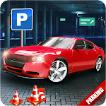 Real City Car Parking Simulation 3D Icon