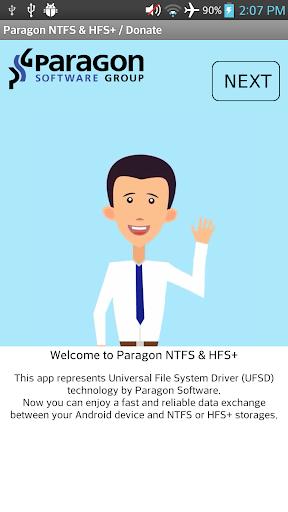 Paragon NTFS HFS+