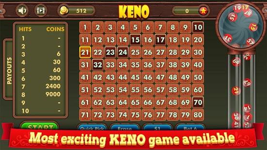 Types of Keno