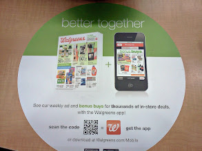 Photo: I love my Walgreens app on my phone, I can scan my prescription bottle to send in a refill request.
