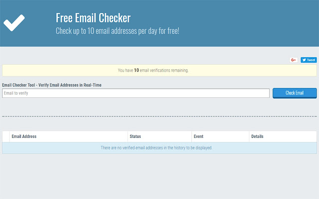 Free Email Checker