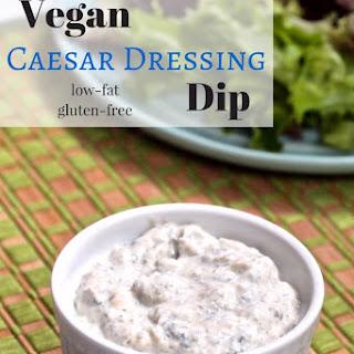 Vegan Caesar Dressing Dip