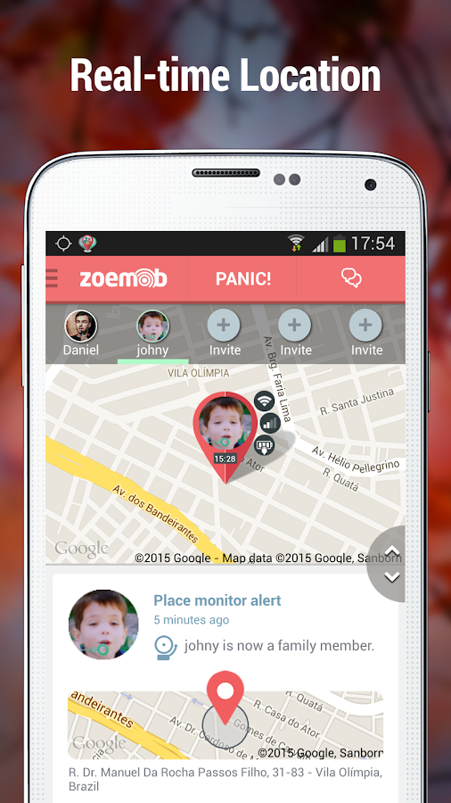 Family Locator & Kids Tracker - screenshot