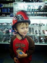 Photo: Finn's New Helmet?