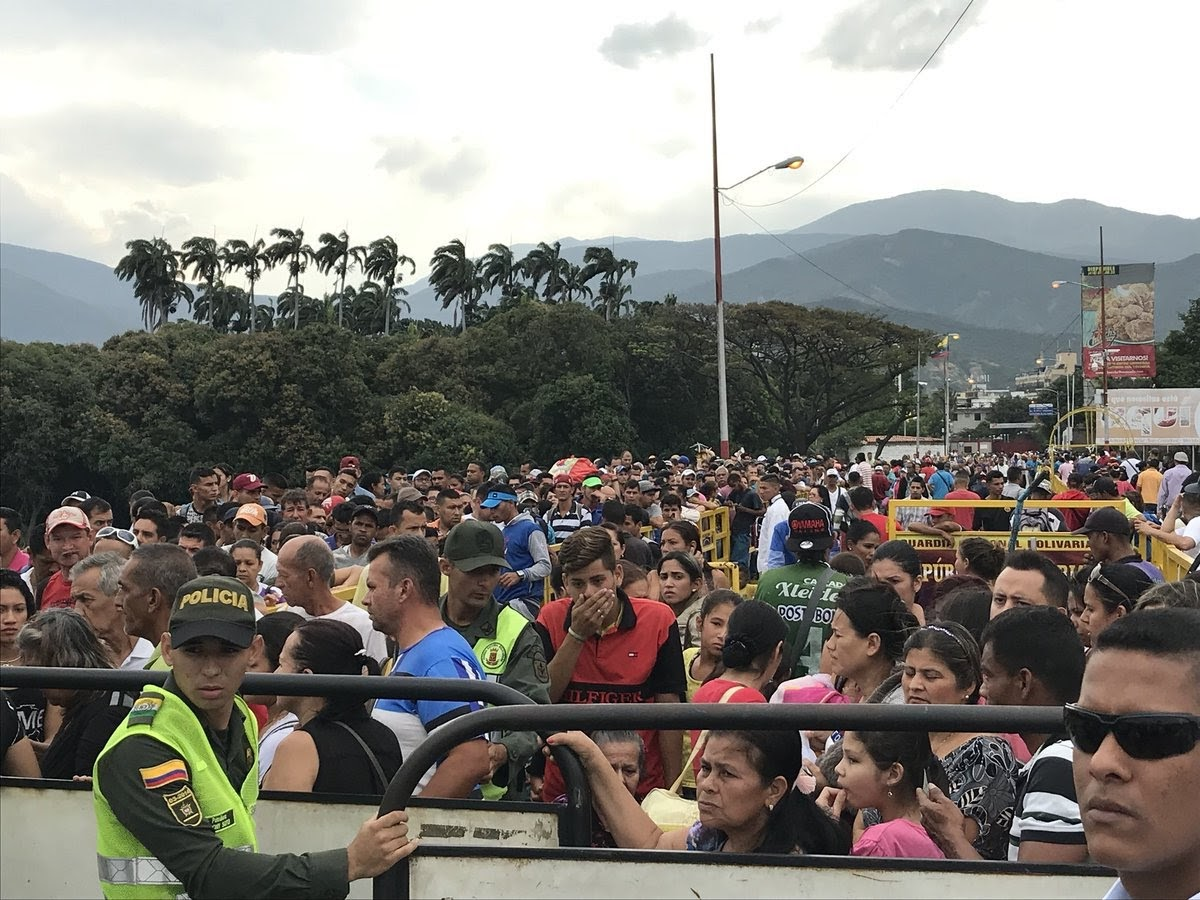 Over 200,000 Venezuelans migrate to Colombia in one month