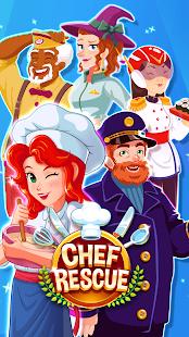 Chef Rescue – Yemek Pişirme Restoran Yönetimi Oyun Ekran Görüntüsü