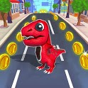 The Dino Runner 3D - Free Running Games icon