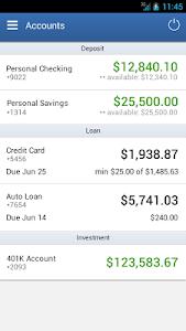 Alliance CU Mobile Banking screenshot 1