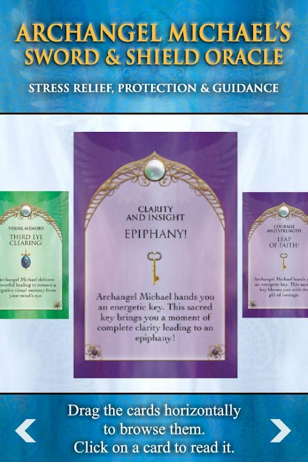 Archangel Michael Oracle Deck- screenshot