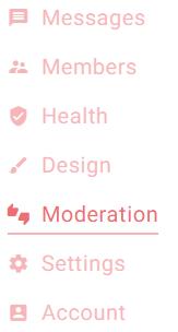 moderation-menu