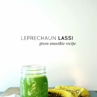 Leprechaun Lassi Green Smoothie