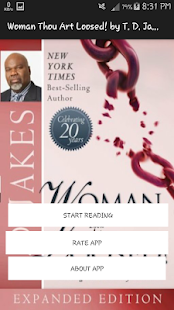 Download Woman, Thou Art Loosed by T. D. Jakes For PC Windows and Mac apk screenshot 1