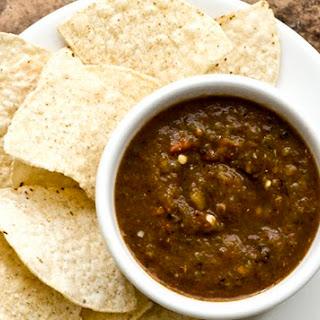 West Texas roasted salsa