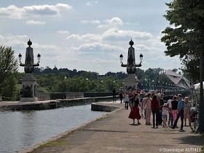 Photo: Il y a de nombreux touristes à Briare