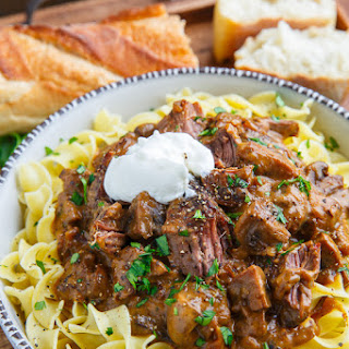 Roast Beef Stroganoff Recipes