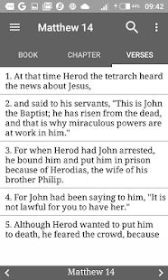NASB Holy Bible - náhled