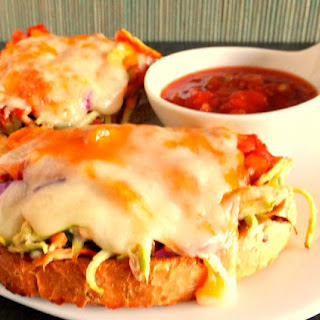 Two Cheese Tuna Mexi- Melts.