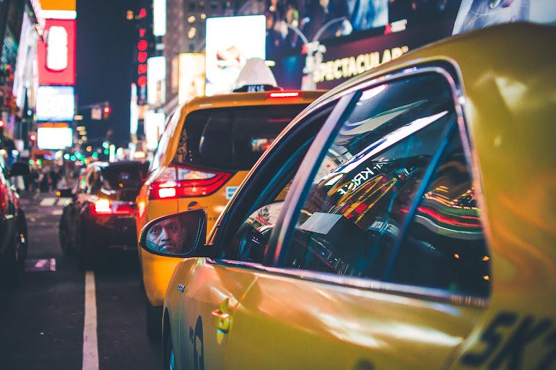 New York: Tassisti nel traffico di Ciro Palomba