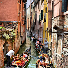 2-Way Canal by Francis Xavier Camilleri - City,  Street & Park  Historic Districts