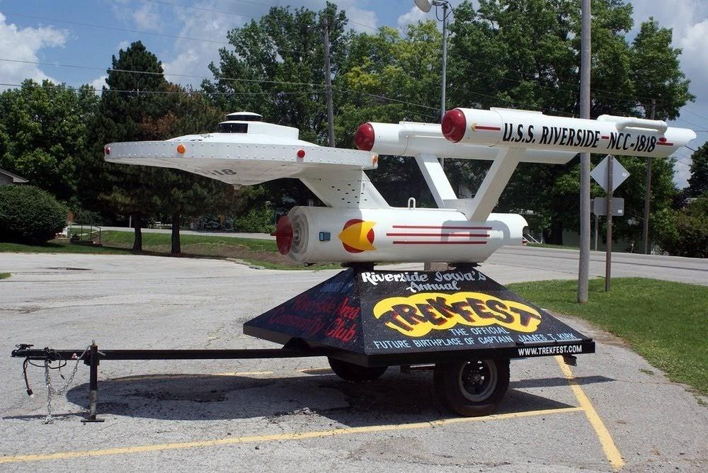 Riverside, o futuro local de nascimento do Capitão James T. Kirk