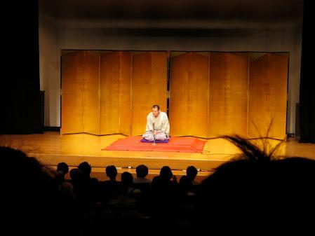 Dentro del Rakugo, el Yose es el lugar donde el rakugoka desarrolla todo el material que tiene preparado para la presentacion.