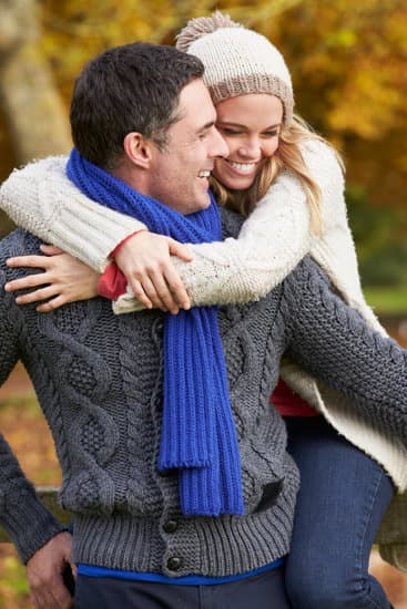 Autumn Happy Couple