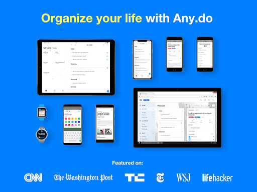 Any.do: To do list, Calendar, Planner & Reminders screenshot 10