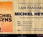 Launch of I Am Pandarus by Michiel Heyns : Book Lounge
