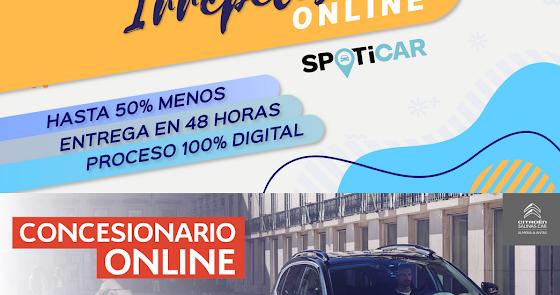 "Irrepetibles ""On Line"" en Citroën Salinas Car"