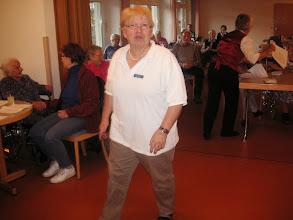 Photo: Unsere vorzügliche Betreuerin und Leiterin der Aktivierung Frau Rosette Schaub