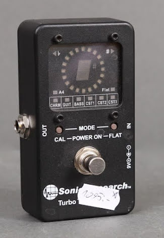 Sonic Research Turbo Tuner USED. Good condition.