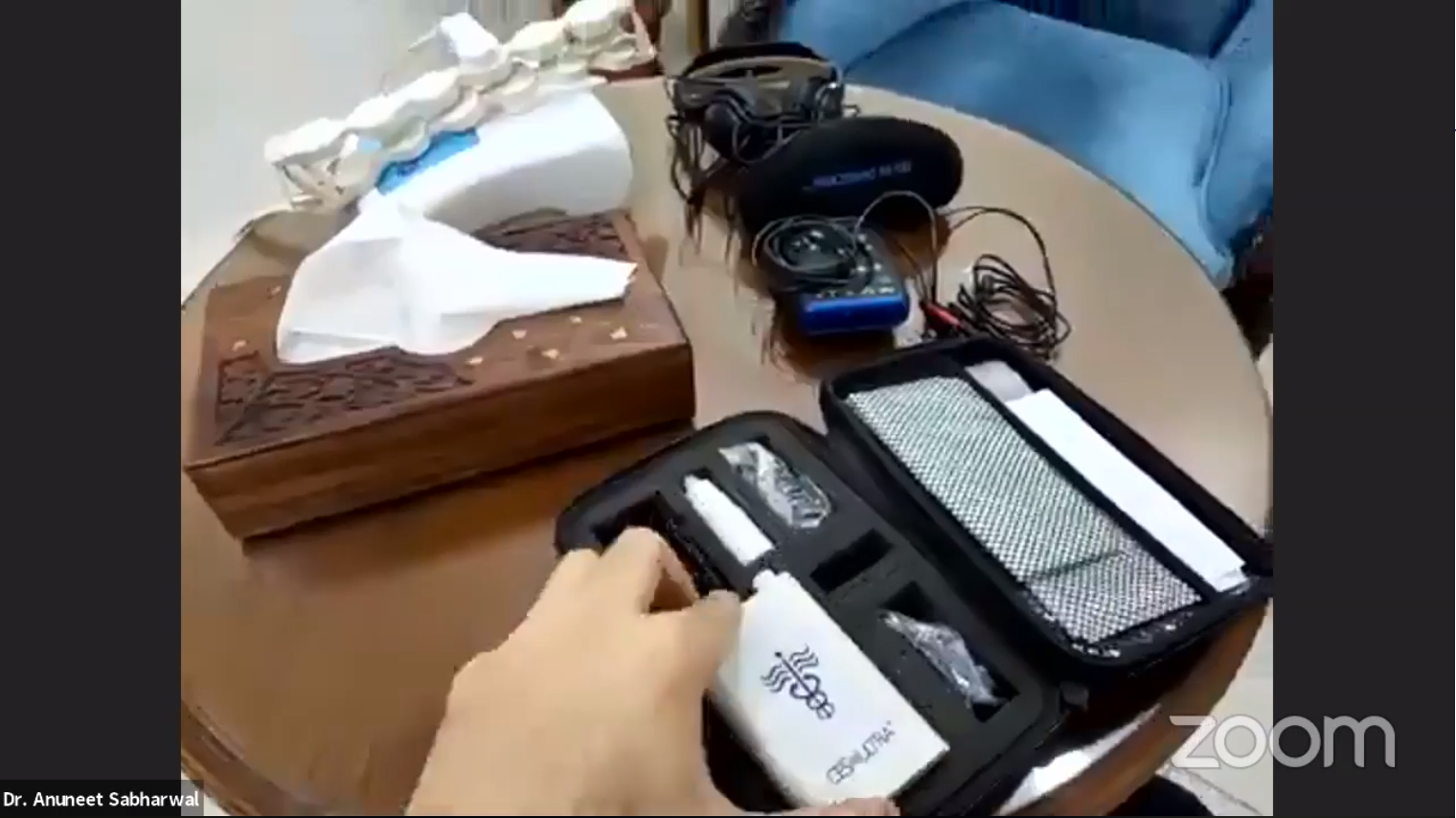 Cranial Electrotherapy Stimulation device