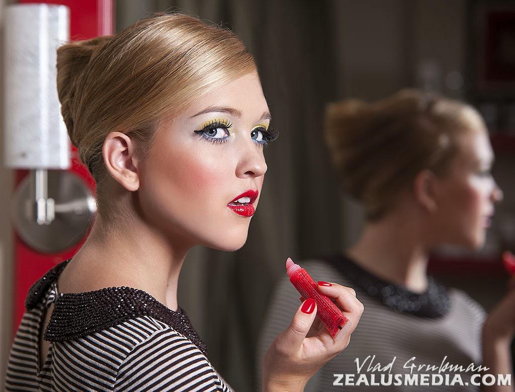Commercial headshot for beauty salon - Photography by Vlad Grubman / ZealusMedia.com