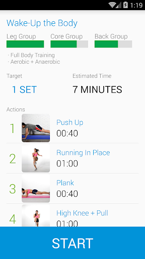 14 Gym - Home Fitness Trainer app (apk) free download for Android/PC/Windows screenshot