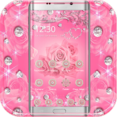 Diamond Pink Rose Theme