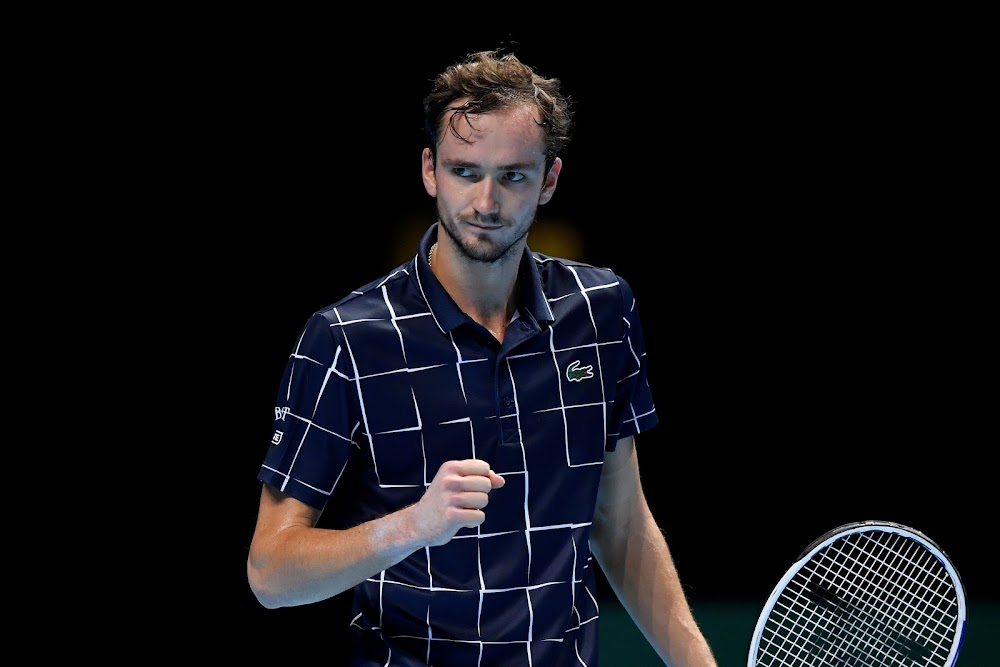 Daniil Medvedev notches first win at ATP Finals, Novak Djokovic up next
