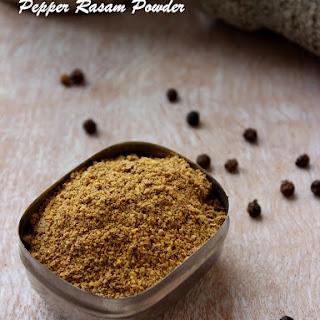 Pepper Rasam Powder / Milagu Rasam Podi