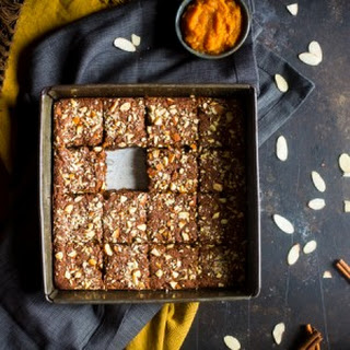 Vegan + Paleo Pumpkin Blondies