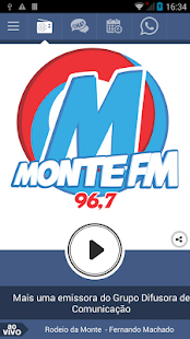 Monte FM 96,7 Monte Carmelo MG- screenshot thumbnail